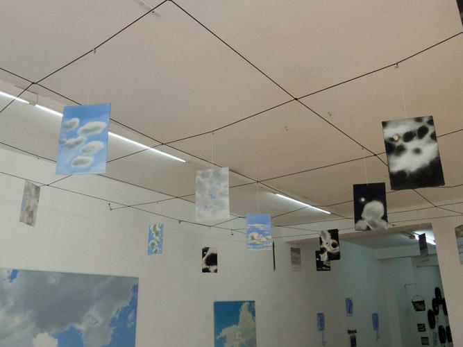 Ausstellungsansicht Geoffrey Hendricks in der Galerie Clasing & Etage