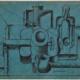 Abbildung von Le Corbusier. Guitare. Pile d'Assiettes et Lanterne. 1920