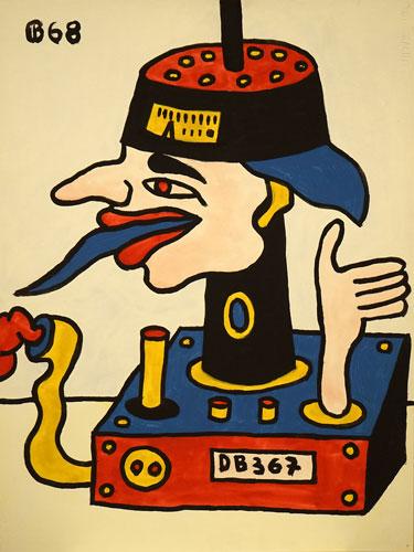 Abbildung von Karl Bungert. o.T. 1968