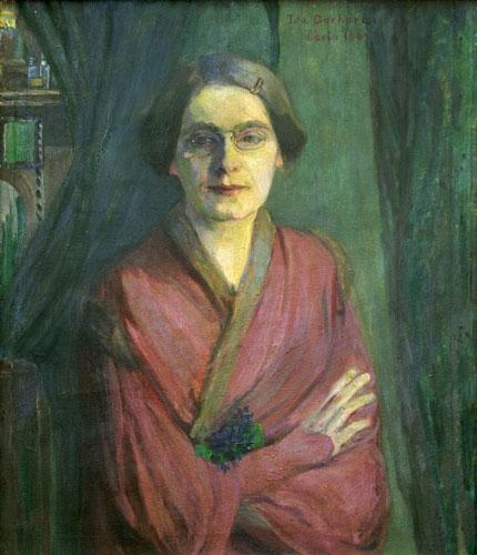Abbildung Ida Gerhardi. Selbstbildnis. 1903
