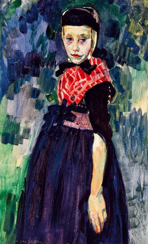Abbildung von Jan Sluijters. Staphorster Mädchen. um 1915