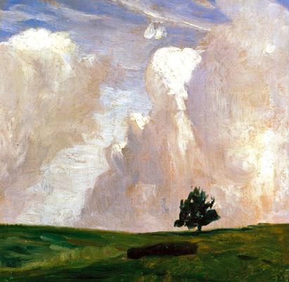 Abbildung von Otto Modersohn. Wolkenberge, um 1892