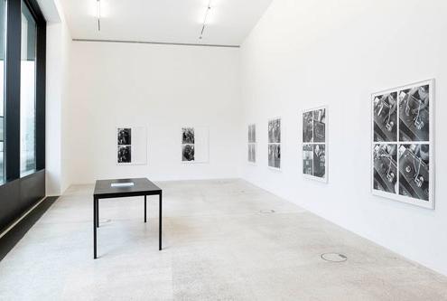 Ausstellungsansicht im Westfälischen Kunstverein Heiko Schäfer