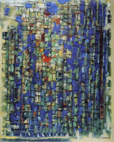 Abbildung von Roger Bissière. Morgenlicht. 1960