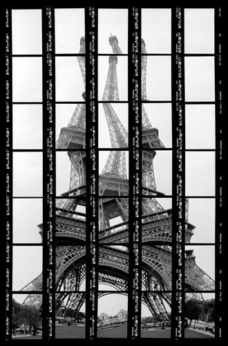 Abbildung von Thomas Kellner. Paris, Eiffelturm