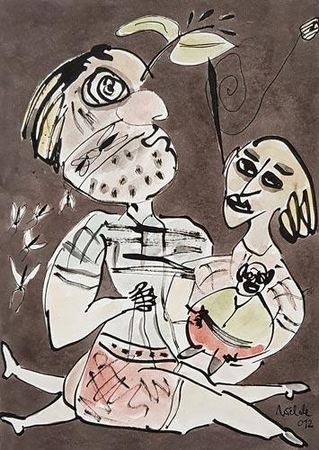 Abbildung von: Erhard Wilde. Sie liebt den kleinen Dicken. 2012