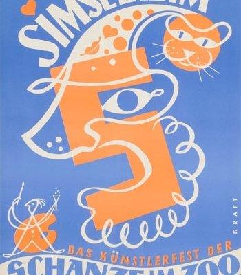 Abbildung eines Werbeplakates von Hans Kraft
