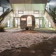 Abbildung von: Kunstakademie Münster. Rundgang im Außenbereich