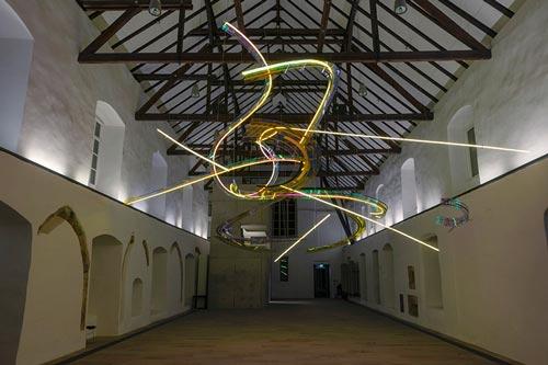 Abbildung von: Susanne Rottenbacher. Installationsansicht Kloster Gravenhorst