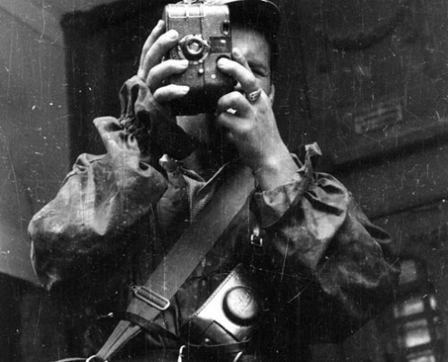 Abbildung eines polnischen Kriegsberichterstatters