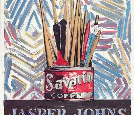 Abbildung von Jasper Johns. Savarin. Whitney Museum of American Art. New York 1977