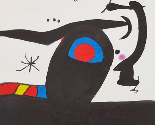 Abbildung von Joan Miró. Tambourmajor. 1980.