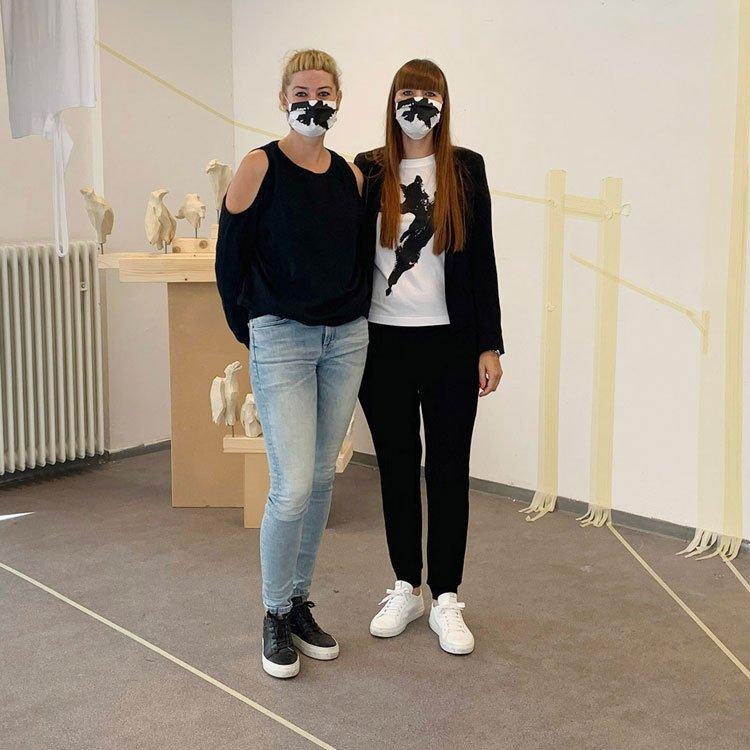 no cube: Die Künstlerinnen Anne Kückelhaus und Tanja Kriebel