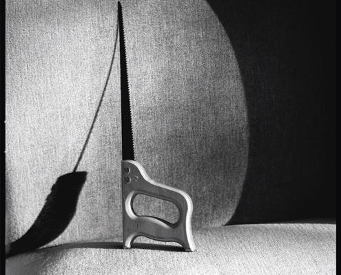 Abbildung von Gunda Scheel. Stichsäge. 1998