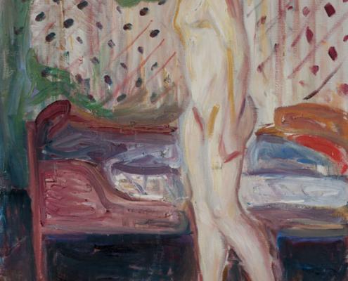 """Edvard Munch. Das weinende Mädchen. 1909. aus der Ausstellung """"Passion Leidenschaft"""" im LWL-Kunstmuseum"""