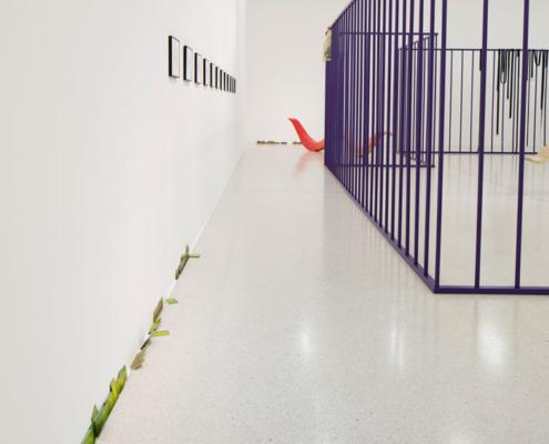Abbildung von Camilla Steinum. Symptom, sympathy. 2020. Ausstellungsansicht Westfälischer Kunstverein