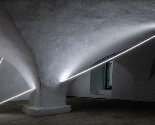 Abbildung von Ausstellungsansichten DA Kunsthaus Kloster Gravenhorst