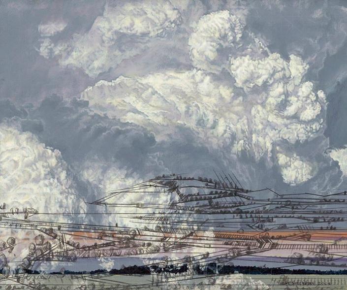 Abbildung von Heike Negenborn. Wolkenmacht. 2008