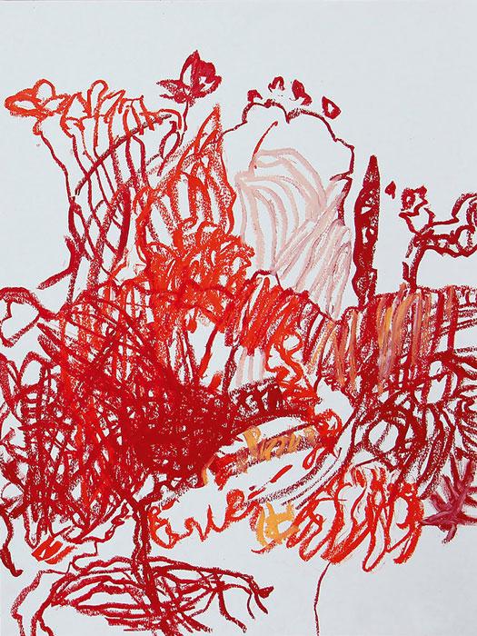 Abbildung von Gabriele Maria Koch. Roter Garten