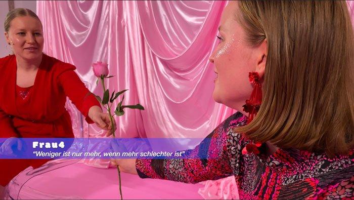 Abbildung von Jovana Reisinger. Men in Trouble. 2021. Episode 2: Liebe