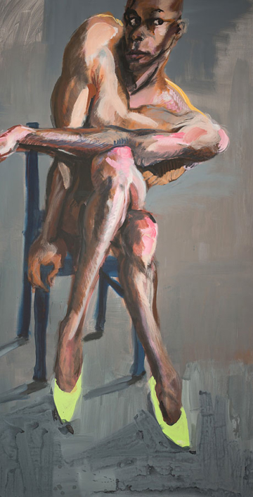 Abbildung von Rainer Fetting. Desmond. 2016
