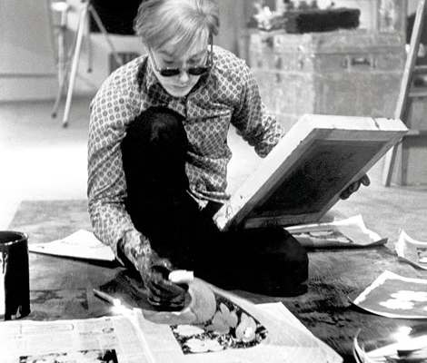 Abbildung von Andy Warhol. New York. 1964. © Eve Arnold/Magnum Photos
