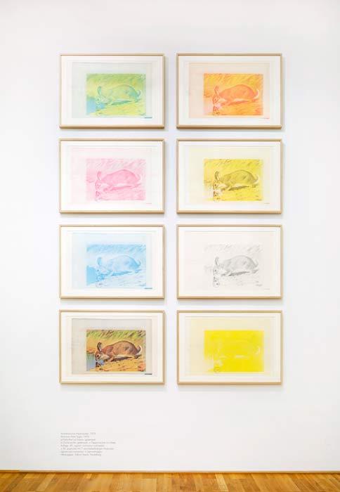 Abbildung von Joseph Beuys. Amerikanischer Hasenzucker. 1974.Foto: LWL/Hanna Neander
