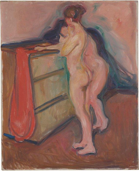 Abbildung von Edvard Munch. Zwei weibliche Akte. 1903