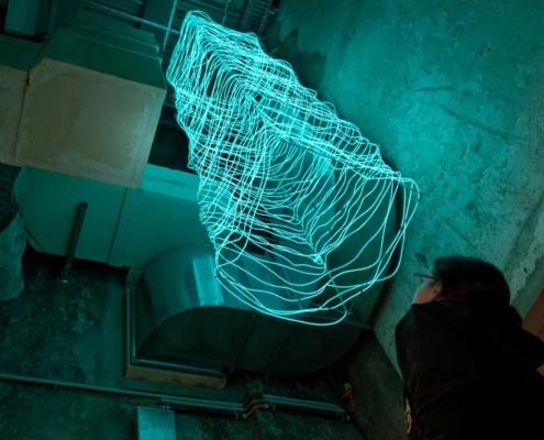 Abbildung von Siwei Li. Fremdes Licht. 2021