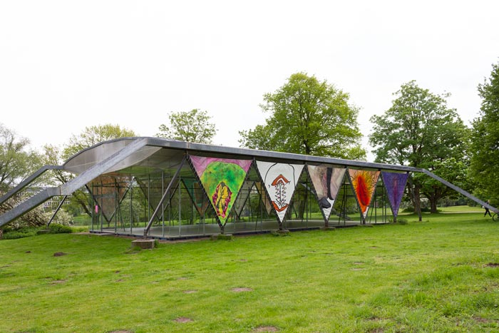 Abbildung von Wewerka Pavillon. Vulventempel. 2021