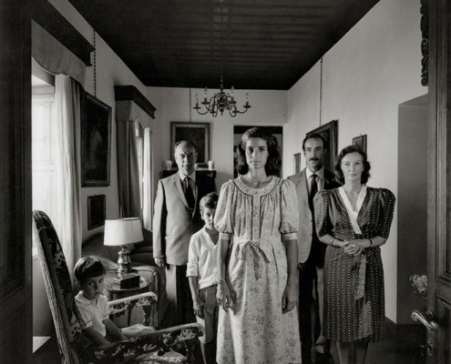 Abbildung von Familie Del Drago. Rom 1987/1989