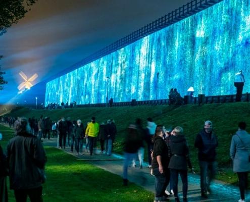 Abbildung von Eröffnung der lichtsicht7 im Oktober 2020