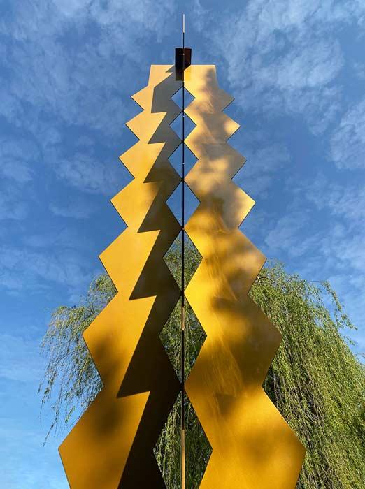 Abbildung von Heinz Mack. Zwischen Erde und Himmel. 2011