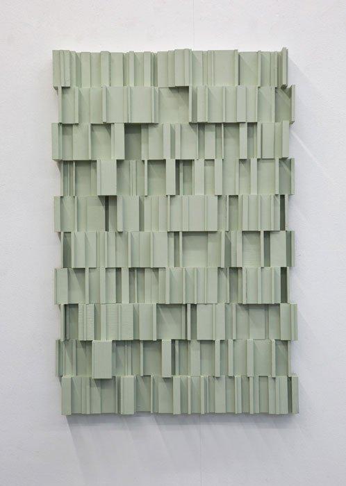 Abbildung von Beat Zoderer. Monochromes Schnittstück. 2003