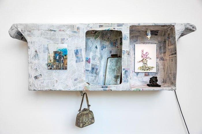 Abbildung von Camillo und Ulrike Grewe. Installationsansicht Galerie der Gegenwart. Foto: LWL/Hanna Neander