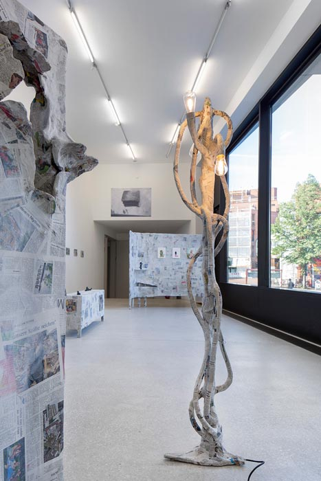 Abbildung von Ausstellungsansicht Galerie der Gegenwart
