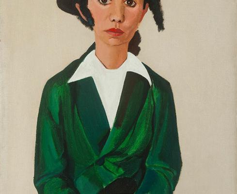 Abbildung von Paul Citroen. Porträt Chaja Goldstein. 1938